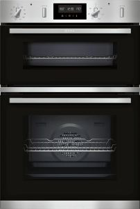 NEFF Double B/I Oven Electric U2GCH7AN0B - Stainless Steel