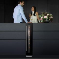Caple Built In Wine Cooler WI156 - Black