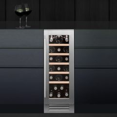 Caple Built In Wine Cooler WI3123-EX-DISPLAY - Stainless Steel / Glass