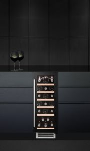 Caple Built In Wine Cooler WI3124 - Black / Glass