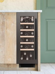 Caple Built In Wine Cooler WI3125GM - Gunmetal
