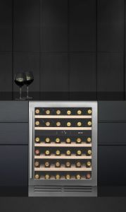 Caple Built In Wine Cooler WI6133 - Stainless Steel / Glass