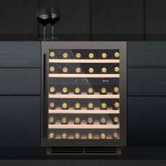Caple Built In Wine Cooler WI6133GM - Gunmetal