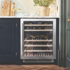 Caple Built In Wine Cooler WI6135 - Stainless Steel