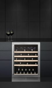 Caple Built In Wine Cooler WI6140 - Stainless Steel / Glass