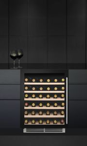 Caple Built In Wine Cooler WI6141 - Black / Glass