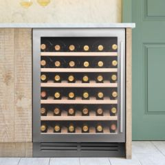 Caple Built In Wine Cooler WI6142 - Stainless Steel / Glass