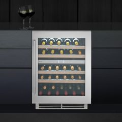 Caple Built In Wine Cooler WI6150 - Stainless Steel