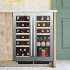 Caple Built In Wine Cooler WI6234 - Stainless Steel
