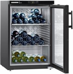 Liebherr Freestanding Wine Cooler WKB1812 - Black / Glass Door