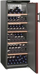 Liebherr Freestanding Wine Cooler WKR4211 - Black / Red Door