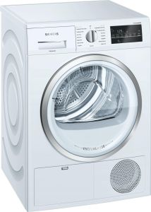 Siemens Freestanding Condenser Tumble Dryer WT46G491GB - White