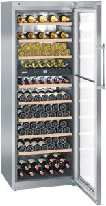 Liebherr Freestanding Wine Cooler WTES5972 - Steel / Glass Door