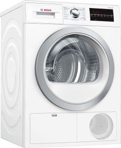 Bosch Freestanding Condenser Tumble Dryer WTG86402GB - White