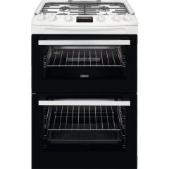 Zanussi Slot In Cooker Gas Nat ZCG63250WA - White