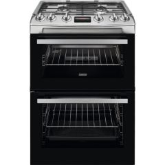 Zanussi Slot In Cooker Gas Nat ZCG63250XA - Stainless Steel