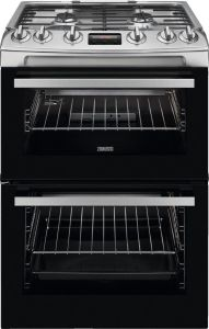 Zanussi Slot In Cooker Gas Nat ZCG63260XE - Stainless Steel