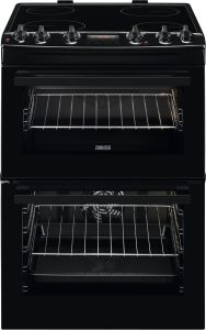 Zanussi Slot In Cooker Ceramic ZCV66250BA - Black