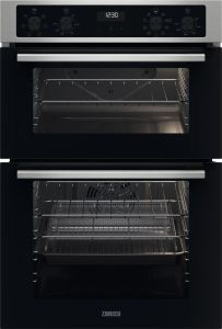 Zanussi Double B/I Oven Electric ZKCNA4X1 - Stainless Steel