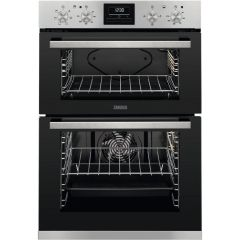 Zanussi Double B/I Oven Electric ZOA35660XK - Stainless Steel