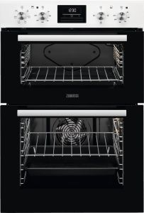 Zanussi Double B/I Oven Electric ZOD35661WK - White