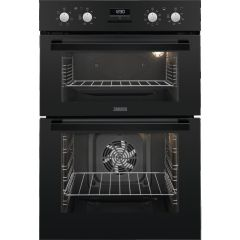 Zanussi Double B/I Oven Electric ZOD35802BK - Black