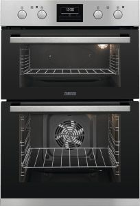 Zanussi Double B/I Oven Electric ZOD35802XK - Stainless Steel