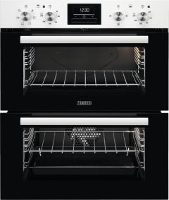 Zanussi Double B/U Oven Electric ZOF35601WK - White