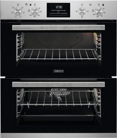Zanussi Double B/U Oven Electric ZOF35601XK - Stainless Steel