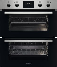 Zanussi Double B/U Oven Electric ZPHNL3X1 - Stainless Steel