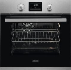 Zanussi Single Oven Electric ZZP35901XK - Stainless Steel
